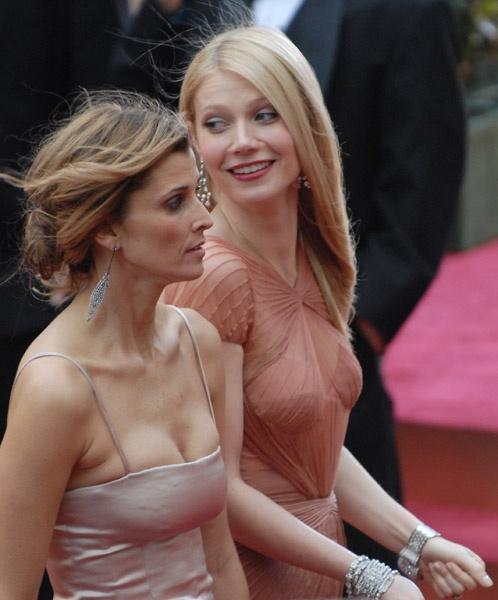 Rosario Nadal y Gwyneth Paltrow.