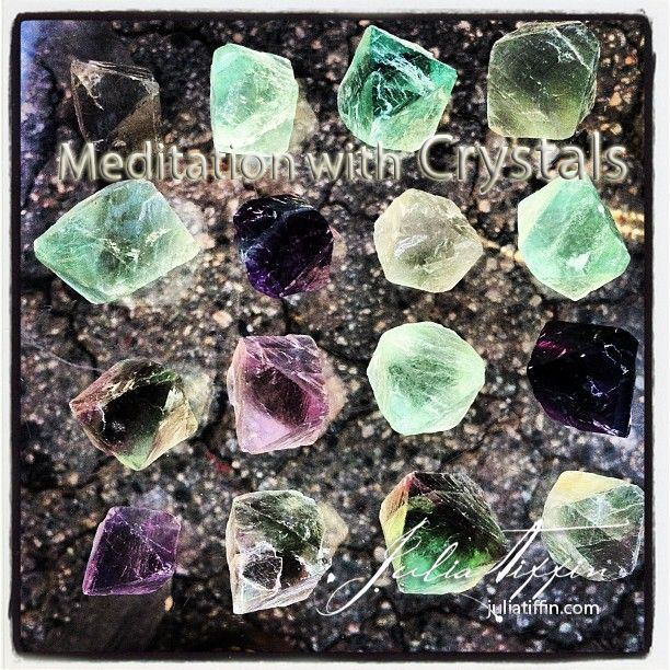 Meditation with Crystals. Experience a healing meditation with crystals to heal & inspire you! juliatiffin.com  #returntothesacred