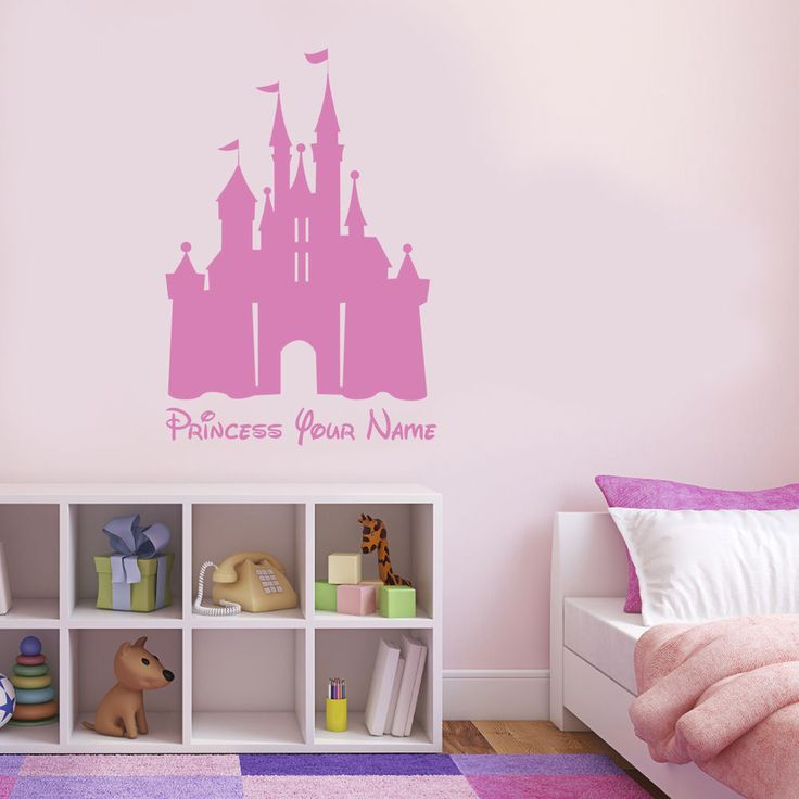 1000 ideas about disney princess decals on pinterest for Disney princess castle mural