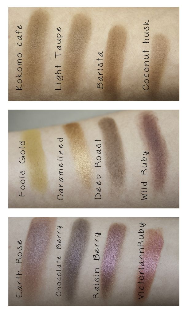 Swatches Of The Koko Kollection By Kylie Cosmetics And: Coastal Scents Hot Pots Review And Swatches