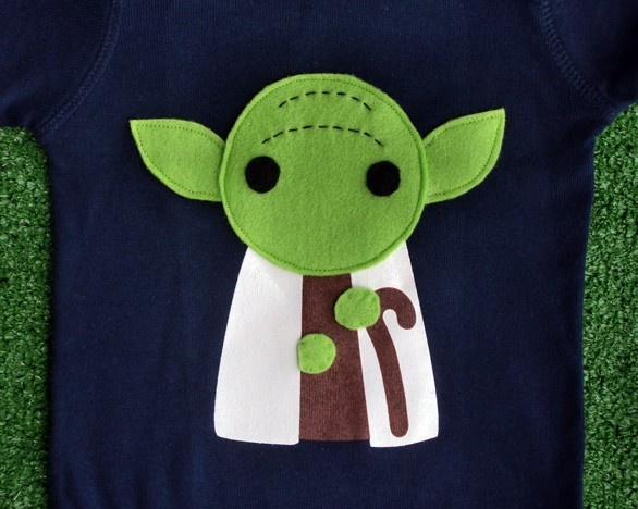 Sewing Wars Youda Infant Bodysuit 23 00 Via Etsy Star Wars Star Wars Crafts