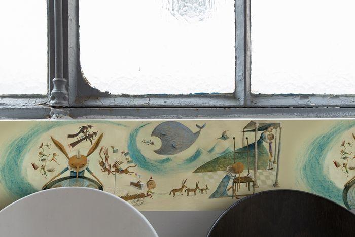 La mia vita turbine par Eva Montanari pour The Mark On The Wall