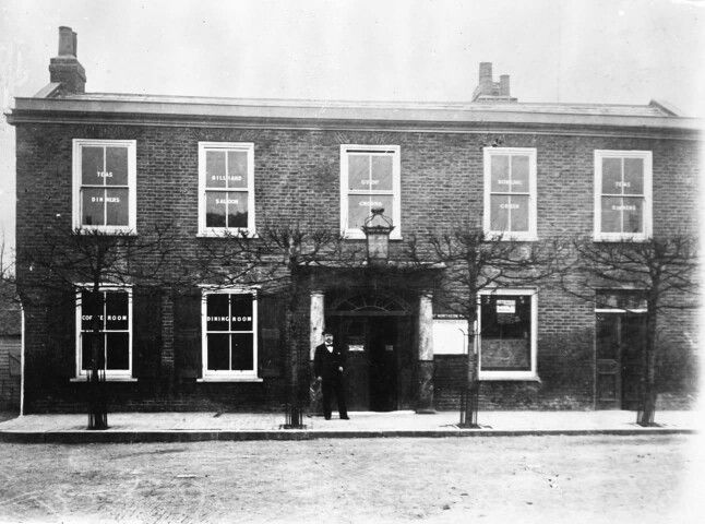 Kings Head in the Town, before rebuild 1899