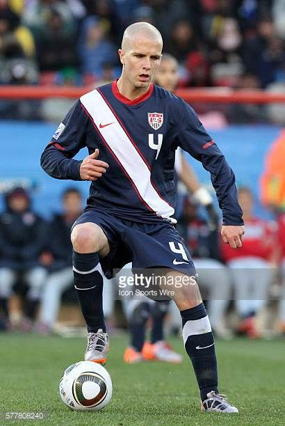 Michael Bradley The Slovenia National Team played the United States National Team to a 22 at Ellis Park Stadium in Johannesburg South Africa in a...