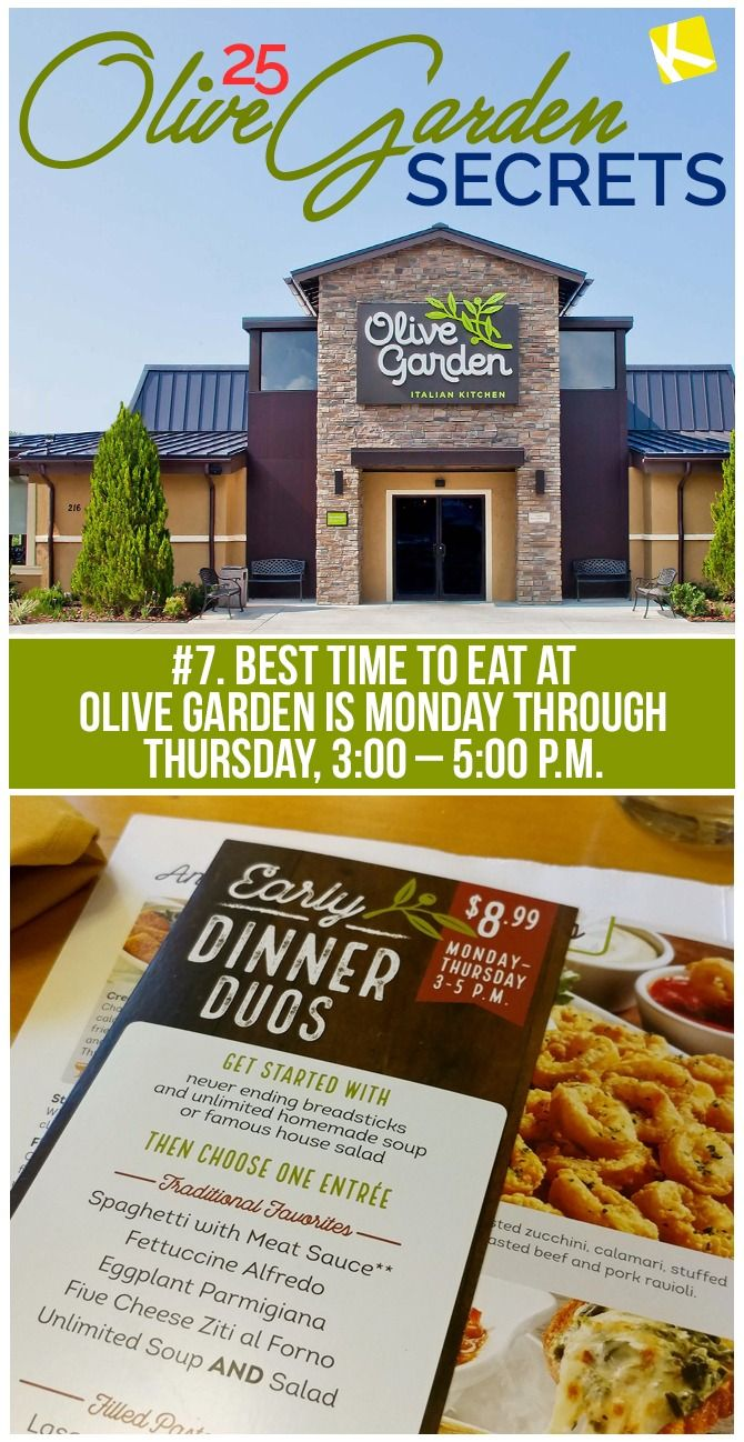 25 Olive Garden Secrets From Your Server That Ll Save You Serious Cash In 2021 Olive Gardens Shopping Hacks Food
