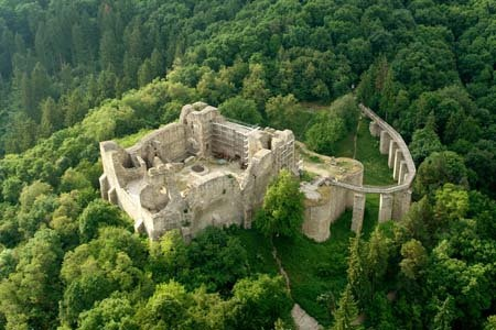 Medieval citaldels like nowhere else in Europe  ~The Neamt Citadel. Romania