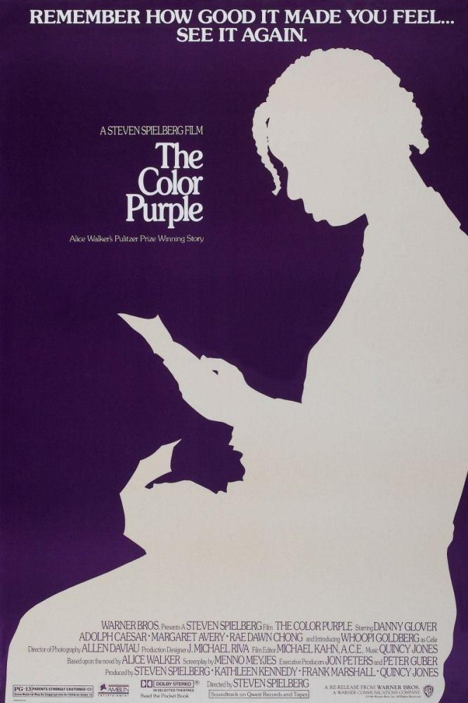 Цветы лиловые полей (The Color Purple) Уж не знаю, как Спилбергу удалась снять настолько трогательную и теплую историю и не могу определить, что в фильме играет первостепенную роль: Саундтрек, Вупи Голдберг или прекрасные кадры, драматические повороты или диалоги, но химия этого фильма оказывает на сердце мощнейшее воздействие. С начала и до финала поток слез из моих глаз остановить было невозможно. Уже во второй раз!