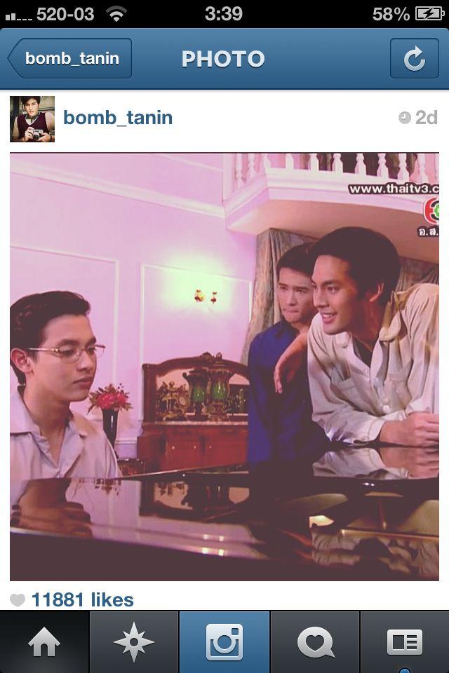 Bomb tanin >Thai rising star actor On TV Series >Su pap bu rut Jutathep (Juthathep's Gentleman) Ep. khun chai ratchanon