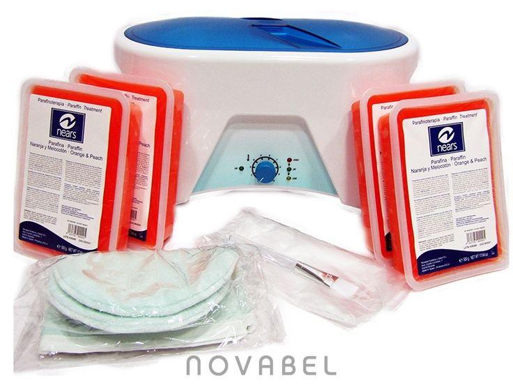 Imagen de Kit con bañera de parafina de 3 Kg. XN