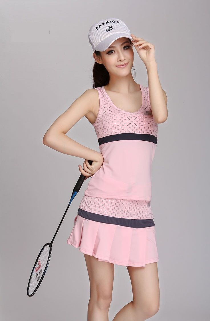 Woman sports vest short skirt set sports skirt tennis ball badminton vest pleated skirt set-inYoga Sets from Sports & Entertainment on Aliexpress.com | Alibaba Group