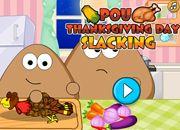 Pou Thanksgiving Day