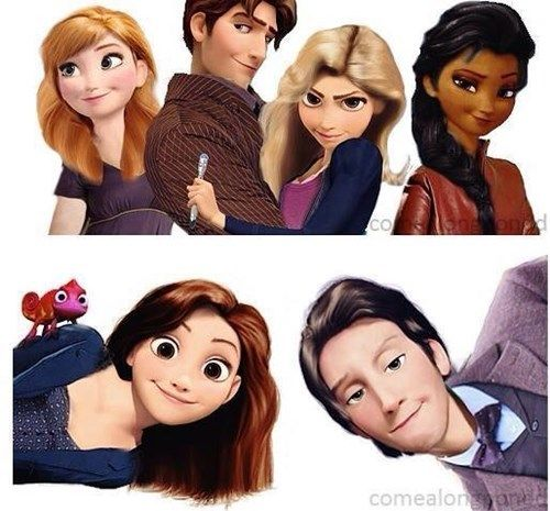 Disney Meets Doctor Who. I cannot explain to myself in a logical way how much I love this and why