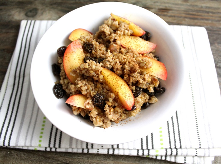 Oppskrift Frokostgrøt Glutenfri Grøt Quinoa Hirse Bokhvete Sunn Frokost