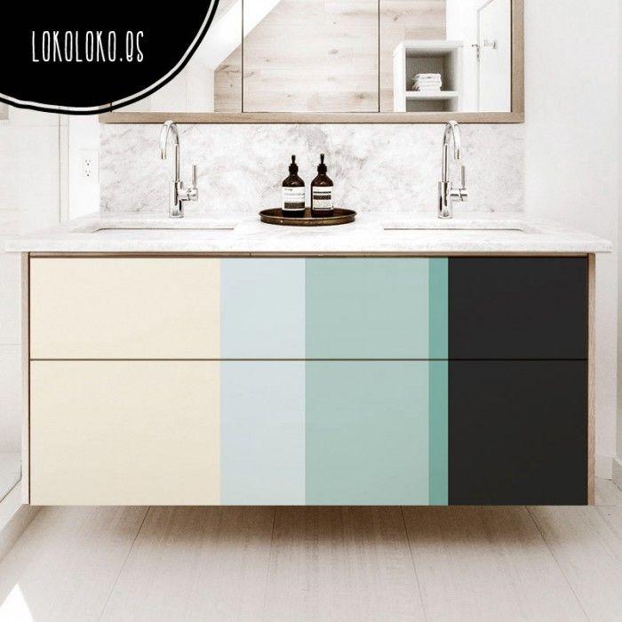 59 best Color Blocks - Vinilos para muebles, pared images on Pinterest - muebles de pared