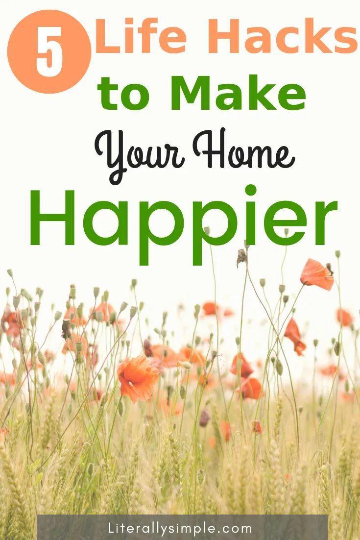 5 Minimalist Ways to Make Your Home Happier