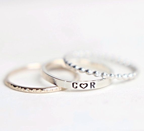 Hey, I found this really awesome Etsy listing at https://www.etsy.com/listing/175660562/personalized-ring-personalized-stacking