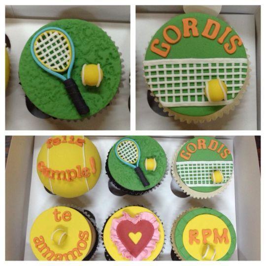 Tennis cupcakes!