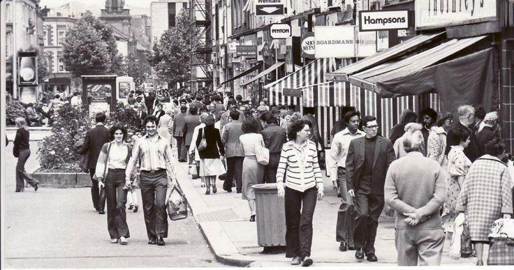 Do you recognise this busy Bolton town centre street pictured in the 1980s? (From The Bolton News)