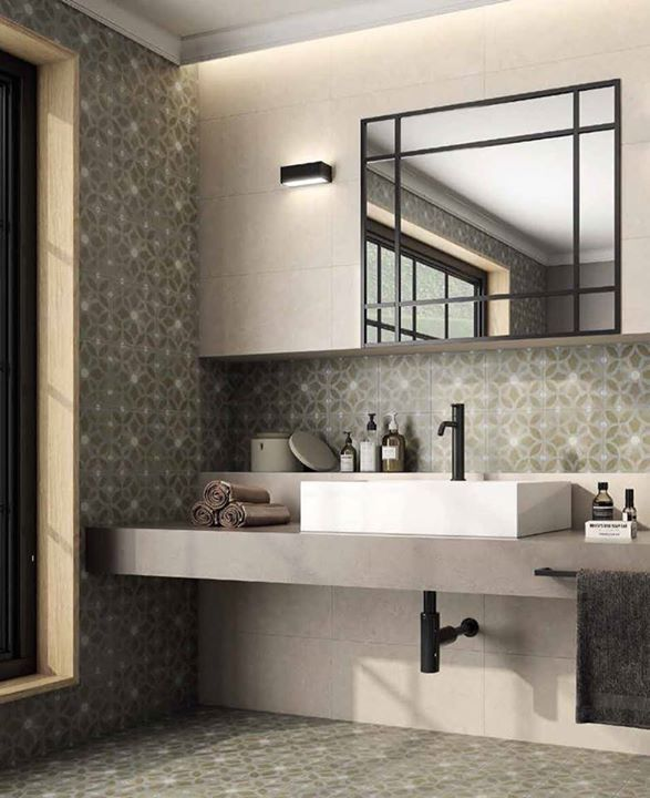 Bathroom Tiles Laying Design 35 best patchwork and patterned tiles inspiration images on