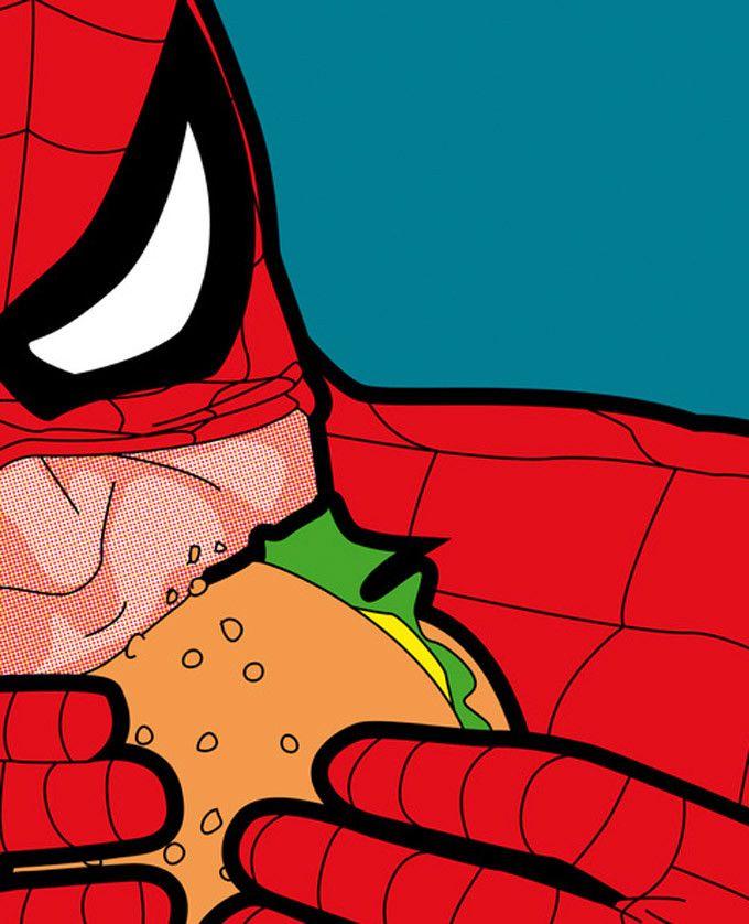 A intimidade dos super-heróis                                                                                                                                                                                 Mais