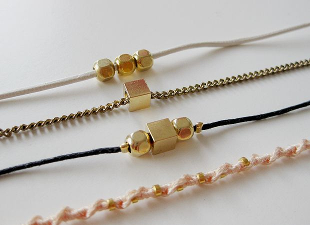 delicate jewelry DIY