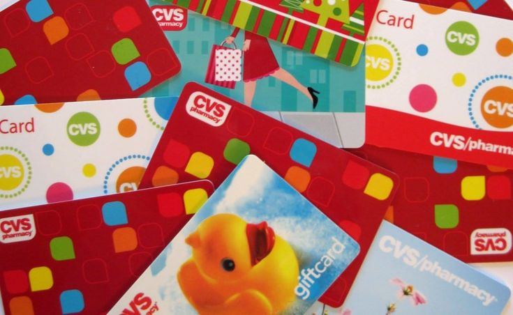 what gift cards can you get at cvs