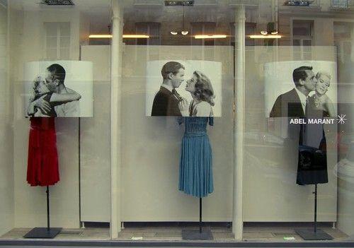 love this store window display by Maho Oikawa
