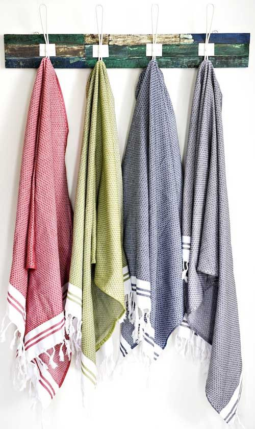 Turkish Towels by Melbourne based organic textiles brand Bhumi: Perfect for travel and light trips down the beach. Quick dry too!