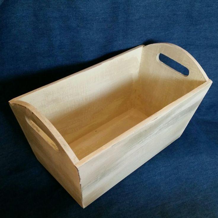 Rustic loaf pan shaped box.