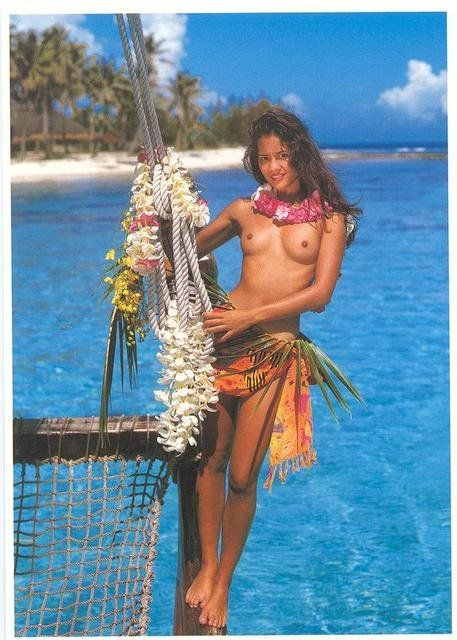 south pacific nude woman