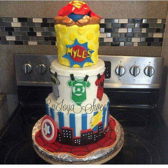 superhero baby shower baby shower cakes forward superhero baby shower