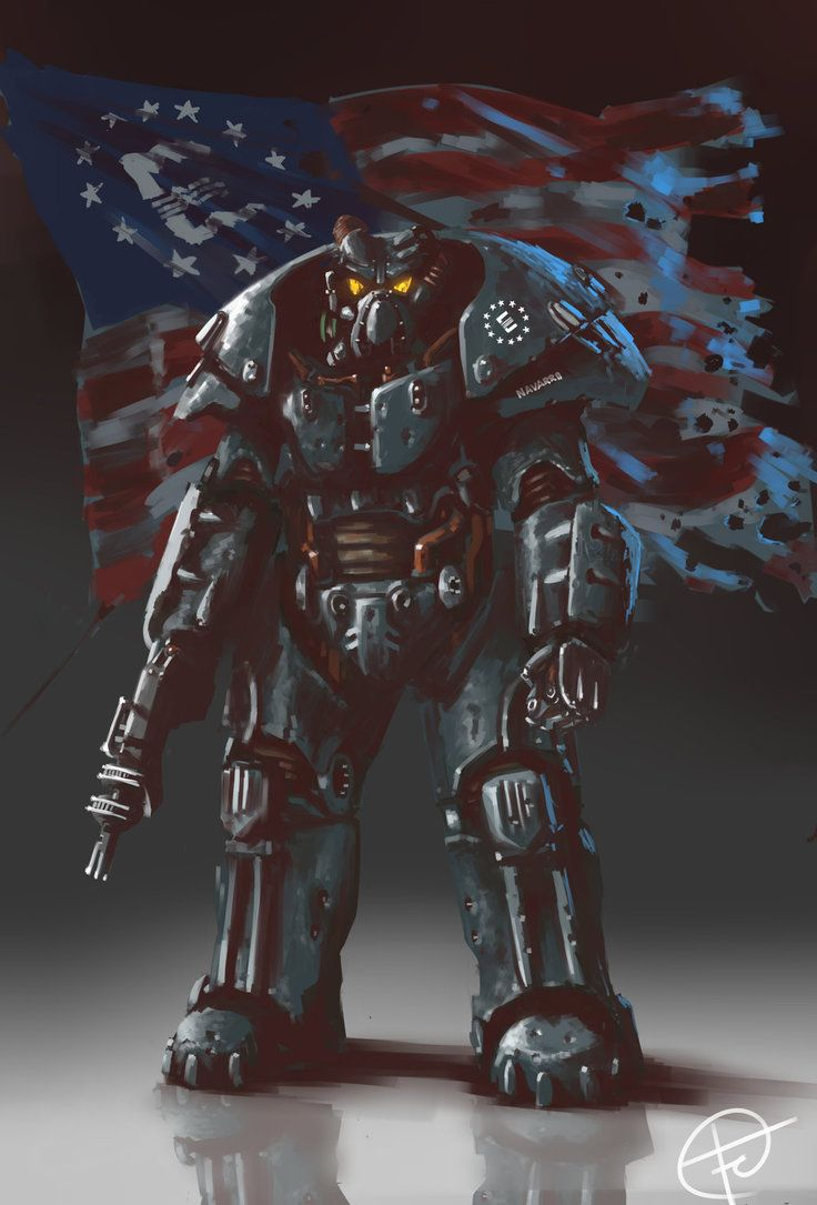 Enclave Trooper. Restoring the USA by any means necessary.