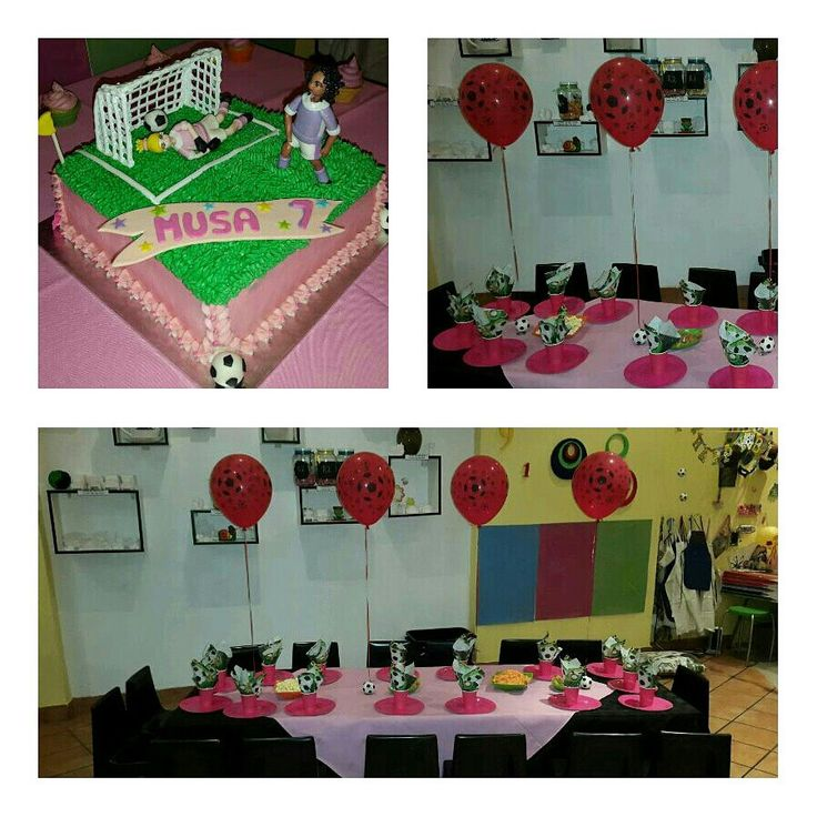 Soccer party for Girls