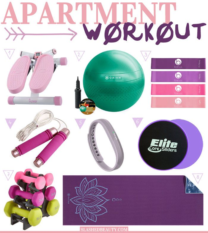 8 Exercise Essentials for Apartment Workouts