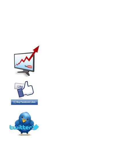 buy youtube views, buy twitter followers, buy facebook likes --- http://www.viewsboost.com/