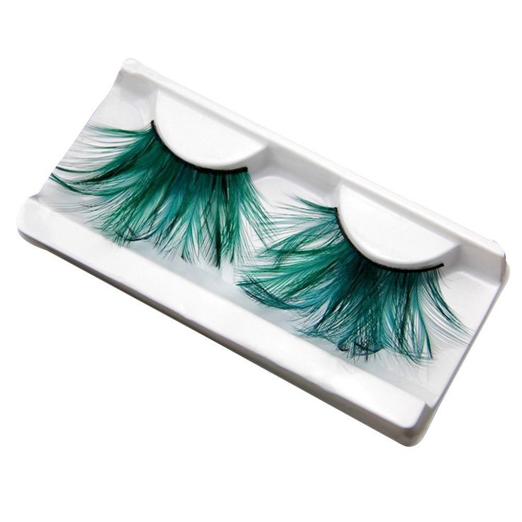 CHN'S 1PC Women Party Stage Long Thick Feather False Eyelashes Makeup ** Visit the image link more details.