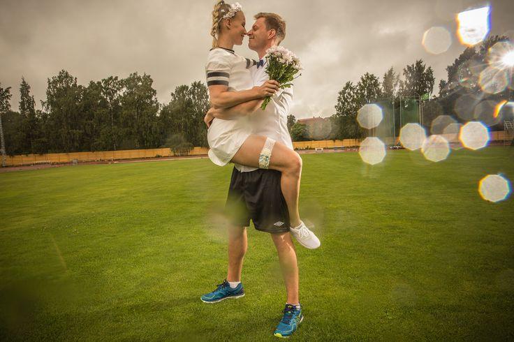 Mari & Joni - A Sports Themed Wedding Shoot