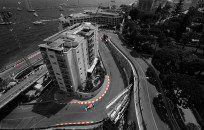 Aerial view of Monaco circuit  #MonacoF1