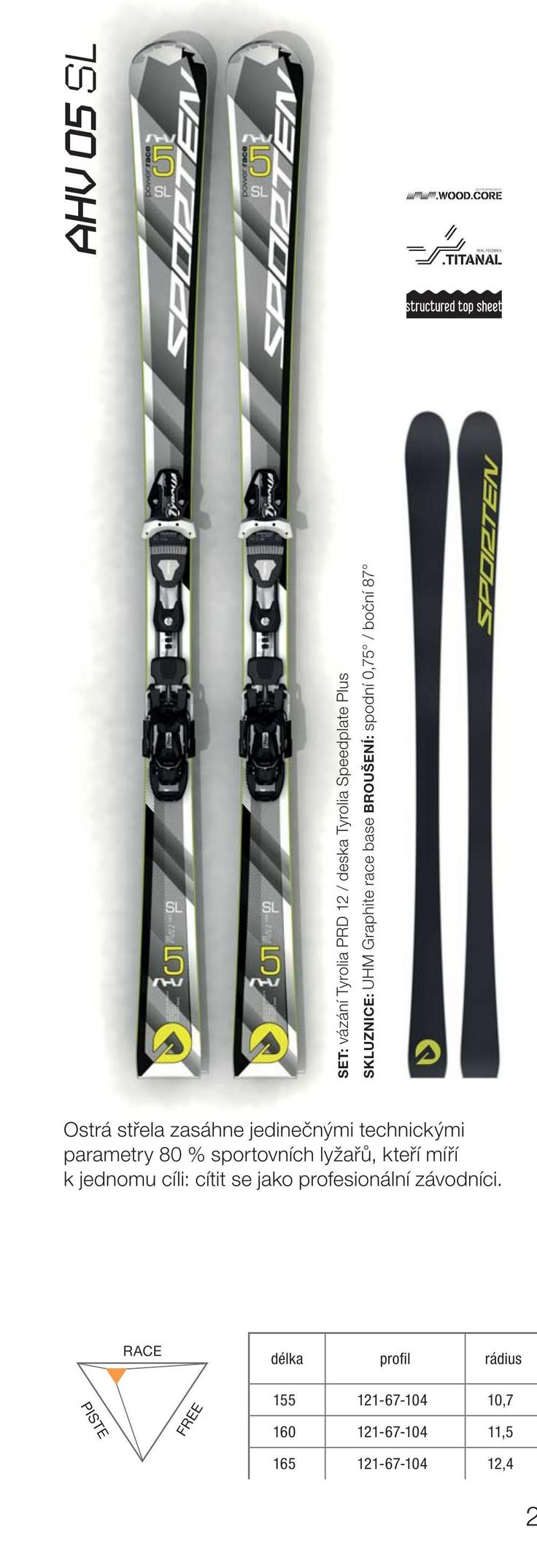 AHV 05 skis 2015/16 collection