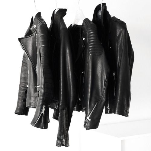 Best 25  Black leather jackets ideas on Pinterest | Leather jacket ...