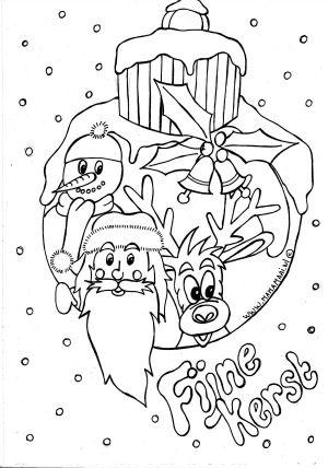 Kleurplaten 2 Kleuterwereld Pinterest Kerst Sinterklaas En