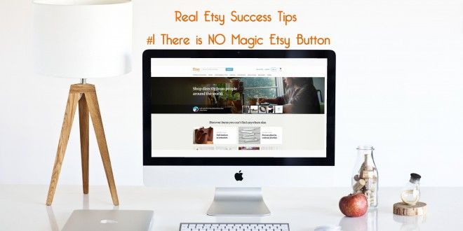 My number one tip that I tell new Etsy sellers, is to remember that Etsy is not magic. Just throwin...