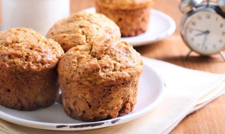 Carottes, courgettes et pommes! Un muffin original et super santé!