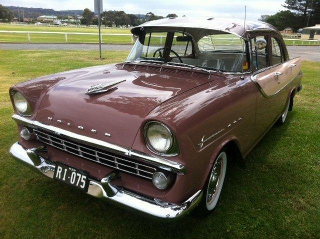 1960 Holden FB Special Sedan. Produced in Melbourne, Australia by General Motors Holden. v@e.