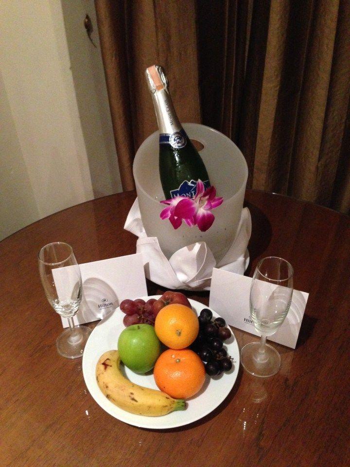 Welcome Treats at the Hilton Phuket Arcadia Resort & Spa in Karon, Thailand