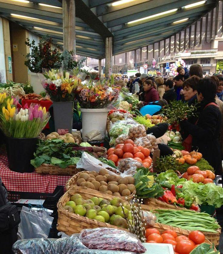 #Sansebastian daily farmers #market. Old town. Parte Vieja.