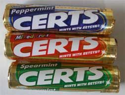 Certs Candy Childhood 1980s - 1990s my grandma ALWAYS had these in her purse