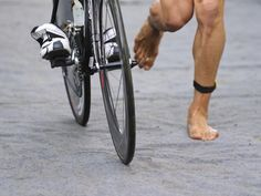 Many triathletes are so focused on swim, bike and run splits that they forget the the transitins. Learn how to shave time legs with these 10 tips.
