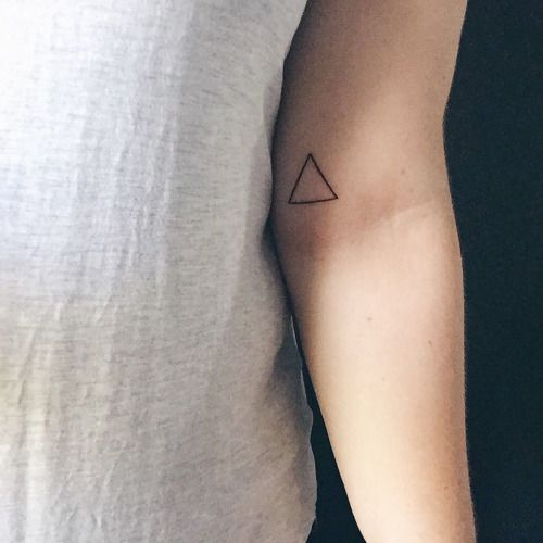 △ greek symbol for Delta meaning change △ // #tattoo (at Big Bear Tattoo)