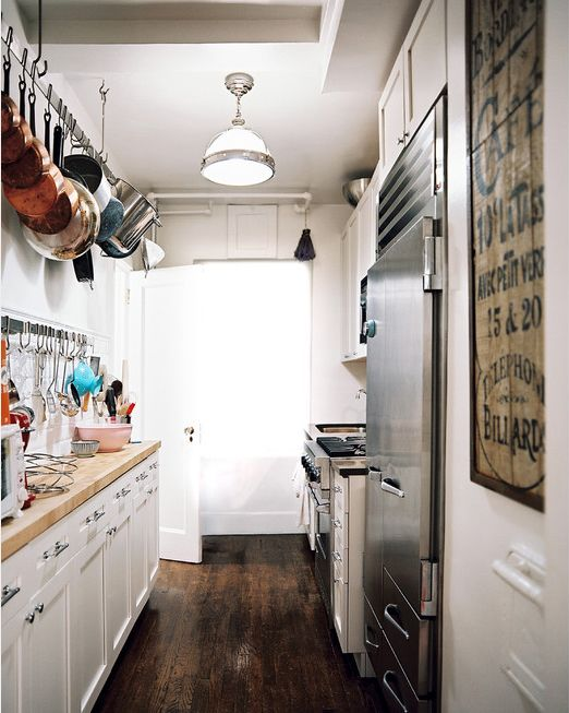 pot rack for small kitchen | home design
